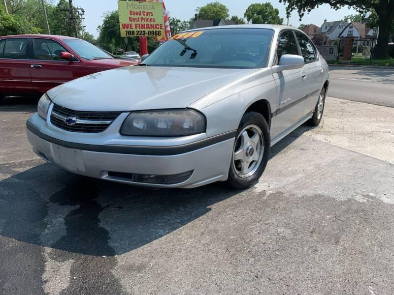 2001 Chevrolet Impala for sale at Morelia Auto Sales & Service in Maywood IL