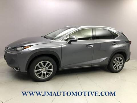2015 Lexus NX 200t for sale at J & M Automotive in Naugatuck CT