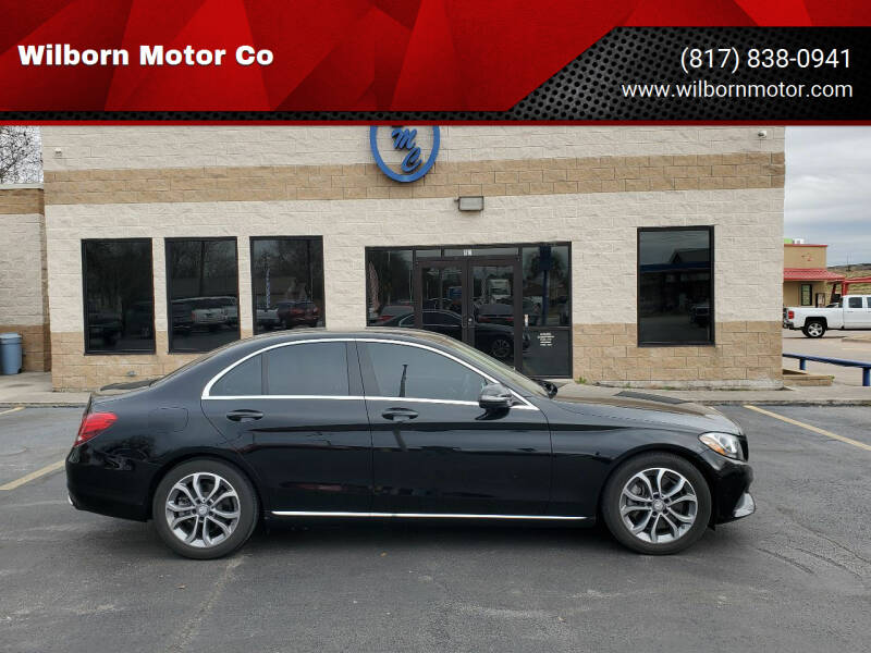 2017 Mercedes-Benz C-Class for sale at Wilborn Motor Co in Fort Worth TX