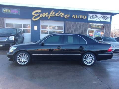 2005 Lexus LS 430 for sale at Empire Auto Sales in Sioux Falls SD