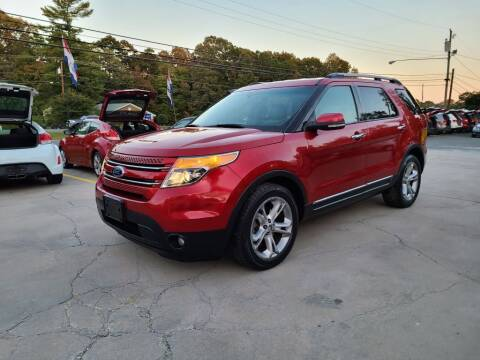 2011 Ford Explorer for sale at DADA AUTO INC in Monroe NC
