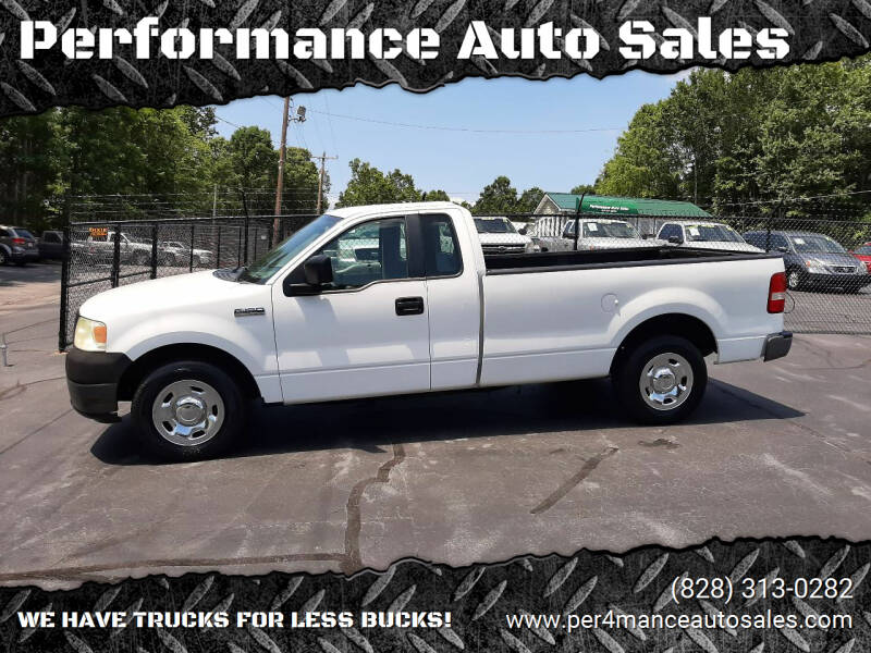2006 Ford F-150 for sale at Performance Auto Sales in Hickory NC