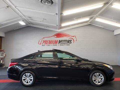 2012 Hyundai Sonata for sale at Premium Motors in Villa Park IL