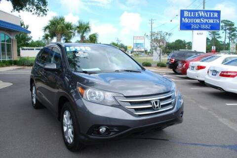 2012 Honda CR-V for sale at BlueWater MotorSports in Wilmington NC
