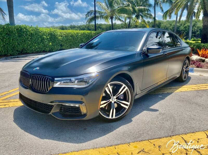 2018 BMW 7 Series for sale in Sunny Isles Beach, FL