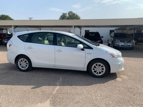 2013 Toyota Prius v for sale at Faw Motor Co in Cambridge NE