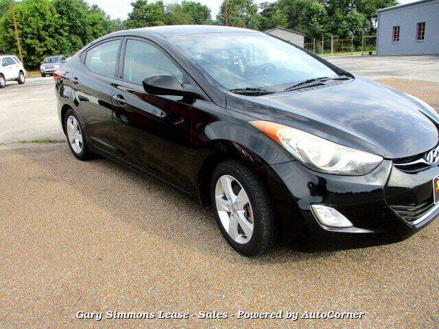 2013 Hyundai Elantra for sale at Gary Simmons Lease - Sales in Mckenzie TN
