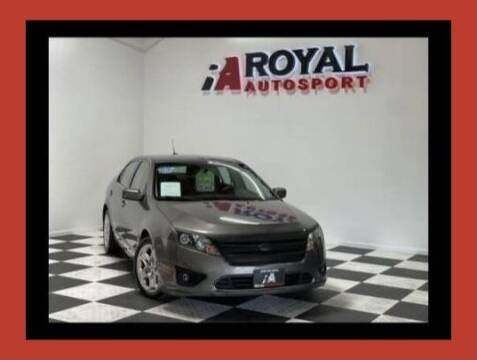 2011 Ford Fusion for sale at Royal AutoSport in Sacramento CA