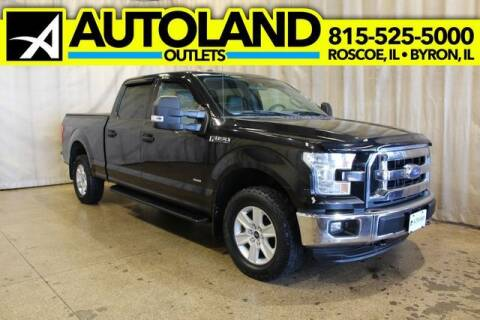 2015 Ford F-150 for sale at AutoLand Outlets Inc in Roscoe IL