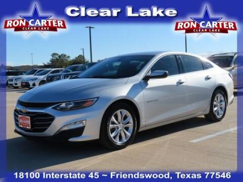 2019 Chevrolet Malibu for sale at Ron Carter  Clear Lake Used Cars in Houston TX