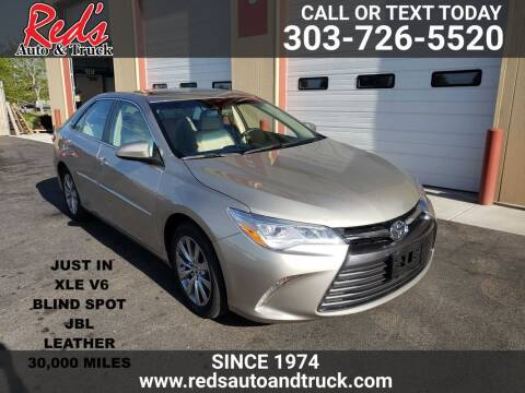 2015 Toyota Camry for sale at Red's Auto and Truck in Longmont CO