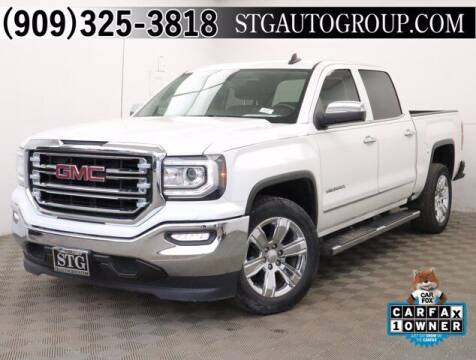 2017 GMC Sierra 1500 for sale at STG Auto Group in Montclair CA