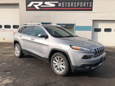 2015 Jeep Cherokee for sale at RS Motorsports, Inc. in Canandaigua NY