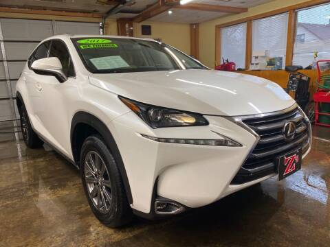 2017 Lexus NX 200t for sale at Zs Auto Sales in Kenosha WI
