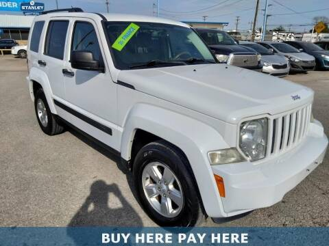 2012 Jeep Liberty for sale at Stanley Automotive Finance Enterprise - STANLEY DIRECT AUTO in Mesquite TX