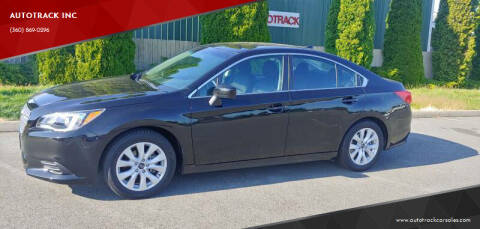 2017 Subaru Legacy for sale at AUTOTRACK INC in Mount Vernon WA
