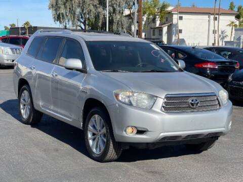 2010 Toyota Highlander Hybrid for sale at Brown & Brown Wholesale in Mesa AZ