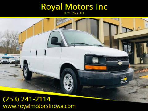 2009 Chevrolet Express Cargo for sale at Royal Motors Inc in Kent WA