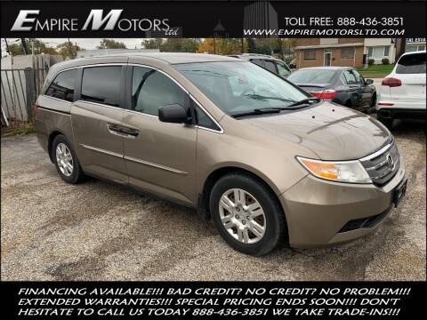 2011 Honda Odyssey for sale at Empire Motors LTD in Cleveland OH