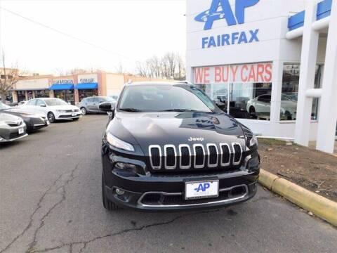 2014 Jeep Cherokee for sale at AP Fairfax in Fairfax VA