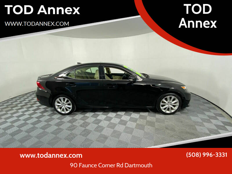 2015 Lexus IS 250 for sale at TOD Annex in North Dartmouth MA