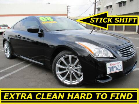 2008 Infiniti G37 for sale at ALL STAR TRUCKS INC in Los Angeles CA