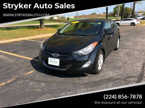 2012 Hyundai Elantra for sale at Stryker Auto Sales in South Elgin IL