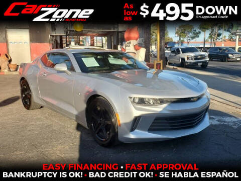 2016 Chevrolet Camaro for sale at Carzone Automall in South Gate CA
