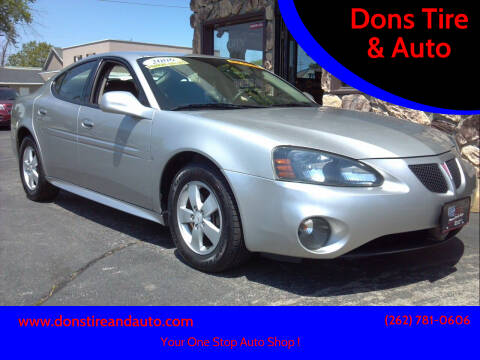 2006 Pontiac Grand Prix for sale at Dons Tire & Auto in Butler WI