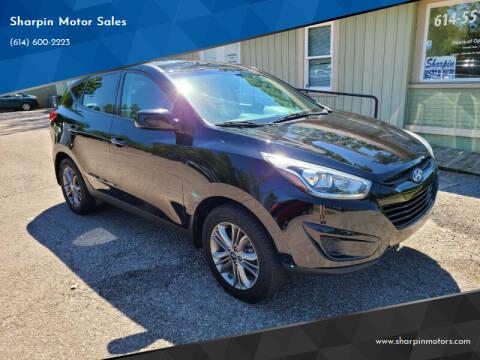 2015 Hyundai Tucson for sale at Sharpin Motor Sales in Columbus OH