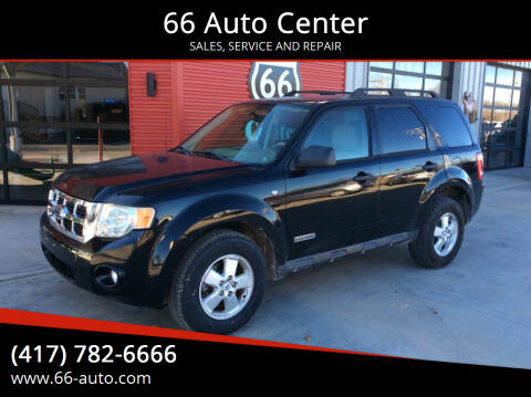 2008 Ford Escape for sale at 66 Auto Center in Joplin MO