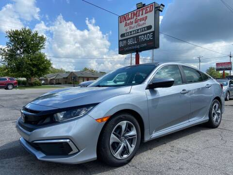 2019 Honda Civic for sale at Unlimited Auto Group in West Chester OH