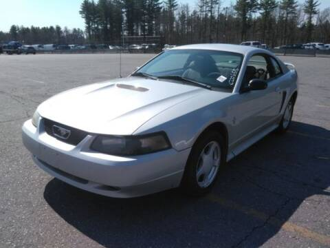 2002 Ford Mustang for sale at NEW ENGLAND AUTO MALL in Lowell MA