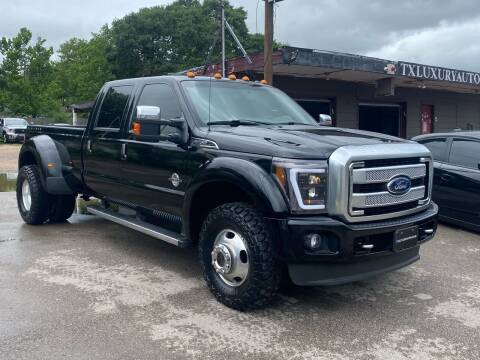 2016 Ford F-350 Super Duty for sale at Texas Luxury Auto in Houston TX