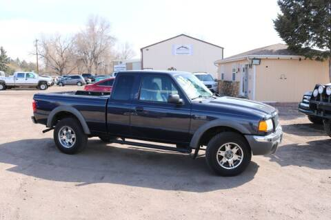 2003 Ford Ranger for sale at Northern Colorado auto sales Inc in Fort Collins CO