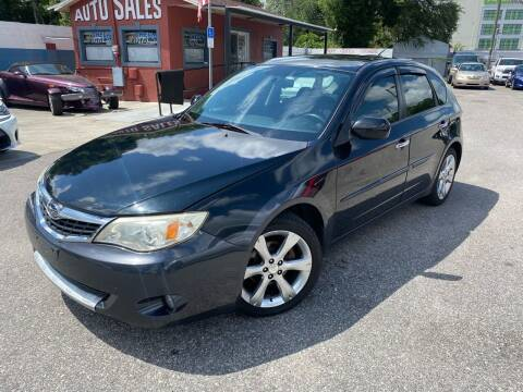 2009 Subaru Impreza for sale at CHECK  AUTO INC. in Tampa FL