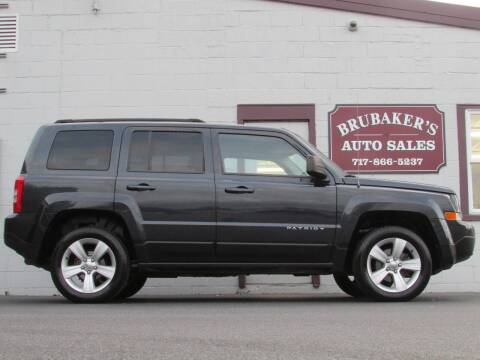 2014 Jeep Patriot for sale at Brubakers Auto Sales in Myerstown PA