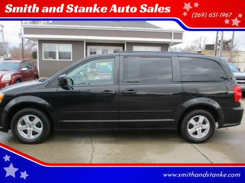 2012 Dodge Grand Caravan for sale at Smith and Stanke Auto Sales in Sturgis MI