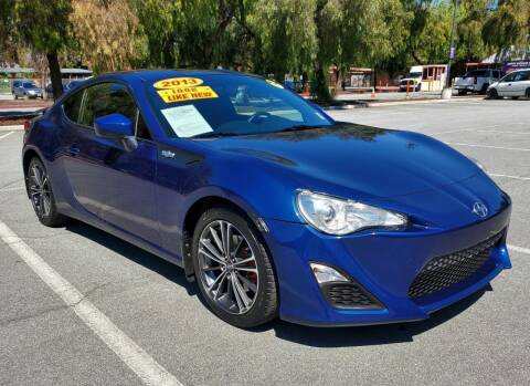 2013 Scion FR-S for sale at ALL CREDIT AUTO SALES in San Jose CA