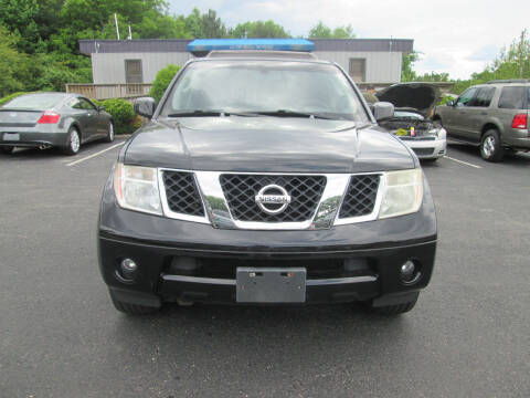 2005 Nissan Pathfinder for sale at Olde Mill Motors in Angier NC