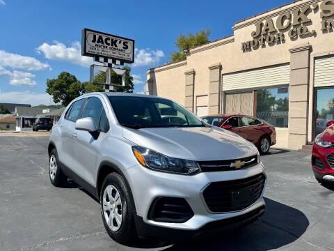 2018 Chevrolet Trax for sale at JACK'S MOTOR COMPANY in Van Buren AR