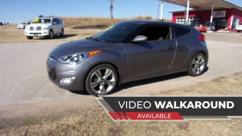 2015 Hyundai Veloster for sale at 6 D's Auto Sales MANNFORD in Mannford OK