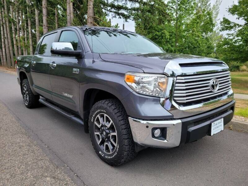 2014 Toyota Tundra for sale at CLEAR CHOICE AUTOMOTIVE in Milwaukie OR