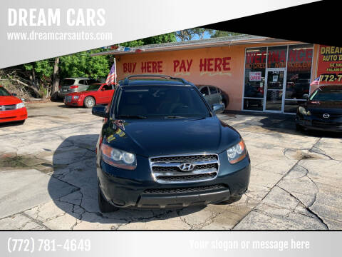 2007 Hyundai Santa Fe for sale at DREAM CARS in Stuart FL