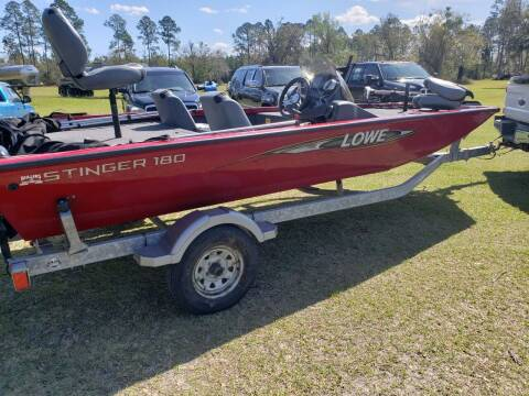 2016 Lowe Stinger 180 for sale at Easy Street Auto Brokers in Lake City FL