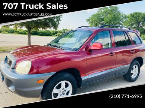 2004 Hyundai Santa Fe for sale at 707 Truck Sales in San Antonio TX