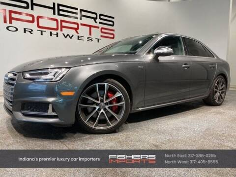 2018 Audi S4 for sale at Fishers Imports in Fishers IN
