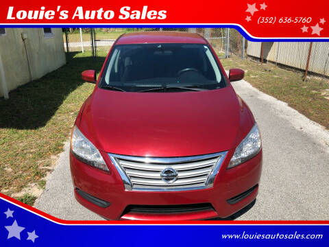 2013 Nissan Sentra for sale at Louie's Auto Sales in Leesburg FL