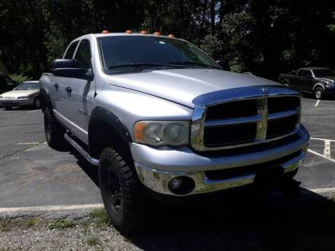 2003 Dodge Ram Pickup 2500 for sale at Sussex County Auto & Trailer Exchange -$700 drives in Wantage NJ