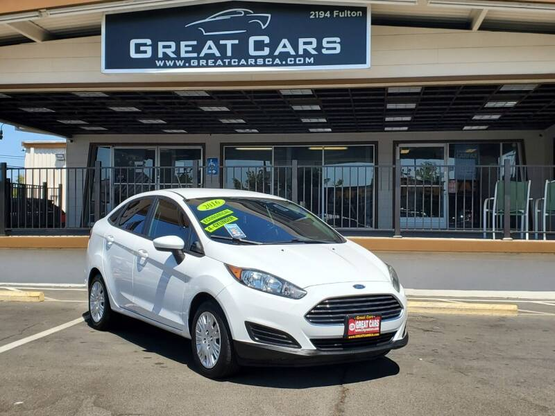 2016 Ford Fiesta for sale at Great Cars in Sacramento CA